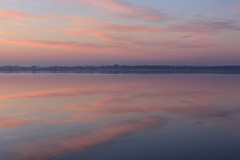 Pastels (KennethVerburg.nl) Tags: winter lake reflection netherlands dutch sunrise landscape meer sneeuw nederland flevoland 2012 landschap almere gooimeer reflectie almerehaven zonsopkomst