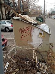 (VISI♢∩QÜΞ5†) Tags: graffiti hazard
