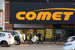 Day 326 - So long, Comet (Ben936) Tags: store sad lastday closing comet closure rochdale closingdown insolvency stockliquidation electricalsupplier