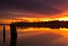 McClellanville Sunset 1 (Bradley Nash Burgess) Tags: light sunset color sc water lumix dock cloudy dusk southcarolina panasonic mcclellanville gf2 mcclellanvillesc panasoniclumixgf2