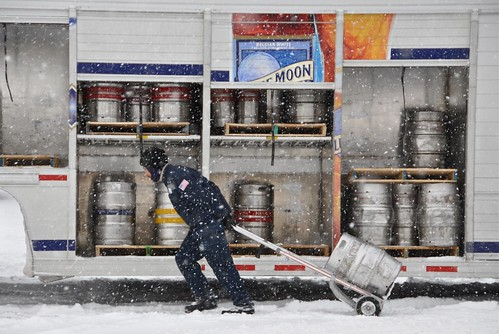 The Delivery of Cold Beer
