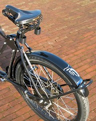 workcycles-bakfiets-rear (@WorkCycles) Tags: classic dutch tricycle details fixedgear oldfashioned heavyduty bakfiets bakfietsen workcycles cargotrike