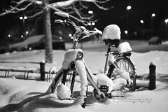 Bicycle in Snow, Blsta, Sweden (Malc ) Tags: winter snow bicycle vinter sweden cycle sn winterweather blsta swedishwinter cyckel hbo balsta svenskvinter uppsalacounty mygearandme mygearandmepremium mygearandmebronze mygearandmesilver mygearandmegold mygearandmeplatinum mygearandmediamond