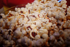 Watching a movie ~ (Mashael Ahmed _  ) Tags: party food movie watching popcorn  watchingamovie