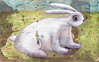 "Rabbit Gesso • <a style=""font-size:0.8em;"" href=""http://www.flickr.com/photos/34168315@N00/8297800822/"" target=""_blank"">View on Flickr</a>"