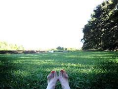 * (teleoalreves) Tags: life green love feet nature grass natural live enjoy end 2012 teleoalreves