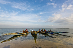 (dinesh.I) Tags: life india lake water fishing nikon fishermen lagoon daily tamilnadu southindia cwc andhrapradesh 1635mm pazhaverkadu pulicatlake chennaiweekendclickers dineshi dineshbabui dineshphotography