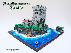 CCCX Aughnanure Castle (Mark of Falworth) Tags: ocean ireland sea irish cliff castle beach landscape lego cccx