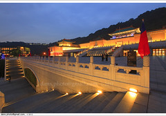 National Palace Museum 2012  (*dans) Tags: longexposure light mountain museum night landscape dusk chinese taiwan palace taipei     palacemuseum nationalpalacemuseum       chinesepalace