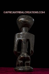 SongyeFigure003a (African Tribal Creations) Tags: africa wood old sculpture woman statue atc antique african mother tribal carving maternity figure congo drc patina creations songe democraticrepublicofcongo songye wasonga songhay basonge bassongo basongye bayembe