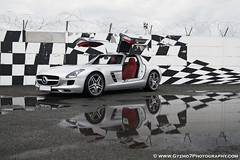 Mercedes SLS AMG - Le Mans (Ghislain Balemboy | Gyzmo 7) Tags: mercedes sls amg