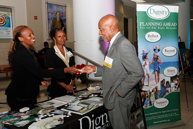 Dignity Sponsor table
