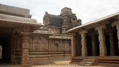 Rama temple in Hampi. Ramayana is carved on all the walls, pillars and the gopura of the temple. (magiceye) Tags: india heritage temple karnataka rama hampi