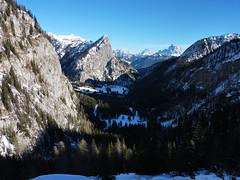 the view from the old mountain road on our way down (gabrieli_a) Tags: powder malgaciapela vernale roccapietore cimaombrettola ombrettolamarmolada skitouringscialpinismogabrielia