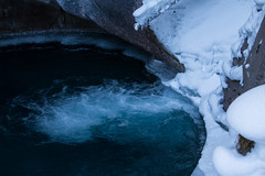 Falling into the Lower Falls (daveybobby) Tags: winter snow canada cold ice landscape frozen waterfall alberta banff rockymountains banffnationalpark winterlandscape canadianrockies frozenwaterfall johnstoncanyon johnstonscanyon