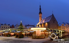 Tallinn, Estonia - New Year's Eve Celebration @Tallinn (GlobeTrotter 2000) Tags: world christmas new old eve travel winter snow tree heritage tourism square happy town europe tallinn estonia russia main nye year visit baltic celebration fairy years tale unseco
