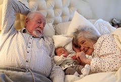Magical Moment - Roni with Great Grandparents. (jayneboo) Tags: family love hope memories precious future bond roni spiritual thankfulness greatgrandmother heartfelt touching greatgrandaughter odc2