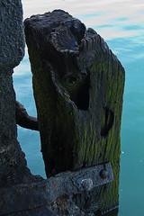 defensa en atraque (clover2500) Tags: puerto mar agua bizkaia getxo areeta