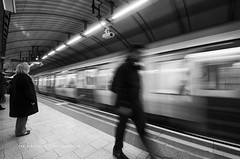 London Tube Action (Craig Pitchers) Tags: people motion london station train underground subway nikon europe tube 1024 unitedkingdon d7000 nikond7000 nikon1024mm