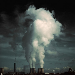 fiddlers ferry (fotobananas) Tags: clouds liverpool canon cheshire smoke pollution powerstation fumes widnes fiddlersferry s95 fotobananas