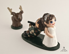 wedding cake toppers bride dragging groom the world s most recently posted photos by my custom cake 26420