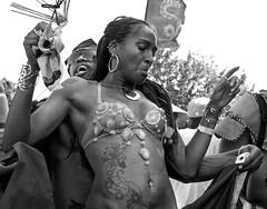 D7K 7022 ep gs (Eric.Parker) Tags: bw toronto costume mas breast parade bikini jamaica trinidad masquerade cleavage westindian caribana 2012 headdress masband scotiabankcaribbeanfestival scotiabanktorontocaribbeanfestival august42012