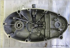 Zundapp 284 - 5 Speed Engine - 288 (Arjan N.) Tags: two engine stroke motor 50cc rebuild zundapp motorrad teardown 5speed motorräder zündapp zuendapp inspect brommer bromfiets motorfiets 284 overhaul motorblok zweiräder gts50 ks125 ks50 zvc 5gang ks100 zundappnl