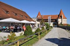 Castle Cafe (Matt D Gardner) Tags: bavaria cafe upperbavaria burghausen altötting burghausencastle