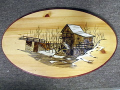 Old Mill Wood Burning (Marvin L. Tweedy) Tags: wood old mill artist florida burning l marvin tweedy mlt