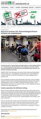 meinbezirk.at: Ruf nach zweitem Lift: Warteschlangen-Protest-Picknick am Stephansplatz (bizeps) Tags: stephansplatz wienerlinien ubahn 2016 medien erwhnung erwhnungen bericht presse pressemeldung pressemeldungen