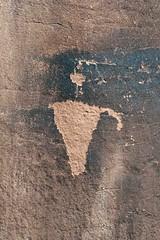 Petroglyph in Kane Creek Canyon (Ron Wolf) Tags: anthropology archaeology blm fremont kanecreekcanyon nativeamerican anthromorph anthropomorph petroglyph rockart utah moab