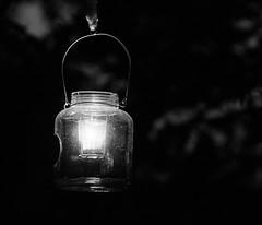 Stand by Me (macplatti) Tags: lonelyness standbyme johnlennon lantern laterne windlicht keramik ceramic night bluehour blue blau blauestunde nacht monochromebw sw schwarzweiss blackandwhite koblach vorarlberg austria aut