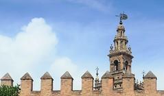 La Catedral de Sevilla y la Giralda (Eloy Mejias) Tags: giralda catedral cathedral catedralsevilla catedraldesevilla sevilla seville andalusia andalucia eloymejias art arabic gothic gotico horse caballo moorish arab arabe muslim moslem tower alminar minarete minaret