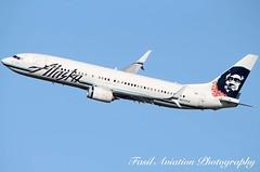 Alaska Boeing 737-890 N537AS (MSN007) Tags: alaska boeing 737890 n537as air airways airlines airport dca kdca 737 800 ng jet aircraft airplane airliner jetliner