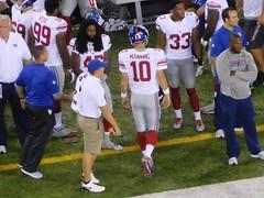 NY Giants vs NY Jets (Miles Glenn) Tags: jetsgame082706 ny giants vs jets new york football nfl