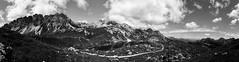 Laghi d'Olbe - B/W for once (rohypnol [Francesco Zaia]) Tags: comelico lago dolomiti montagne monti mountains alpi alps lake bw bn