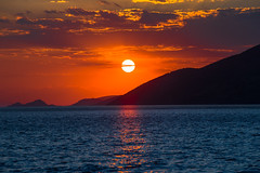 Summer moved on (Vagelis Pikoulas) Tags: summer sun sunset porto germeno greece europe sea seascape canon 6d tamron 2016 70200mm vc sky clouds cloud cloudy