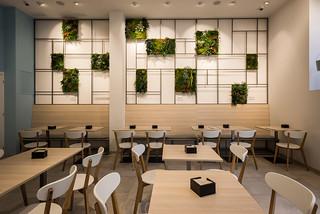 Jardin vertical en pared | Breik cafetería - degustación