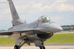 F-16C, Shaw AFB, South Carolina, Spring 2016, (3) (hondagl1800) Tags: f16c shawafb southcarolina spring2016 f16 fightingfalcon fighterjet aircraft airplane outdoor vehicle militaryaircraft