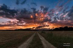 Sunset glow over Andernach (Mr. Kurzschluss) Tags: andernach felder krahnenberg sonnenuntergang landschaft sun glow sunset fields landscape germany