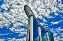 A Billion to Build (Angelo Bufalino - AirTeamImages) Tags: marinabaysands marinabaysandscasino singapore malaysia nikon d5 asia architecture urban