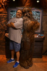 """Scott and Chewbacca • <a style=""""font-size:0.8em;"""" href=""""http://www.flickr.com/photos/28558260@N04/29117147312/"""" target=""""_blank"""">View on Flickr</a>"""