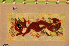 September 12 2016, Monday (interchangeableparts) Tags: needlepoint playfulsquirrel sandravargas ruthschmuffmysteryclass