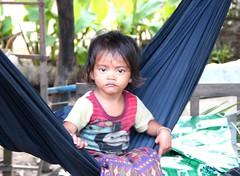 Sleepy head (nick taz) Tags: waking hammock siemreap village sleepyhead