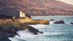 Malibu (Tom -) Tags: sea ocean malibu sunset wave sony a7rii