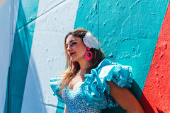 Mara (Leo Hidalgo (@yompyz)) Tags: canon eos 6d dslr reflex yompyz ileohidalgo fotografa photography vsco feria de mlaga andaluca gitana vestido dress fair spanish
