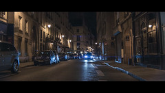 The last seconds (James Yeung) Tags: anamorphic anamorphot slr magic cinematic movie night paris street france