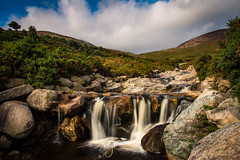 Bloody bridge trail (Pastel Frames Photography) Tags: northernireland waterfall mourne mountains nature stream water walk rocks hiking outdoors sky clouds trees canon5dmark3 canon 2470mm
