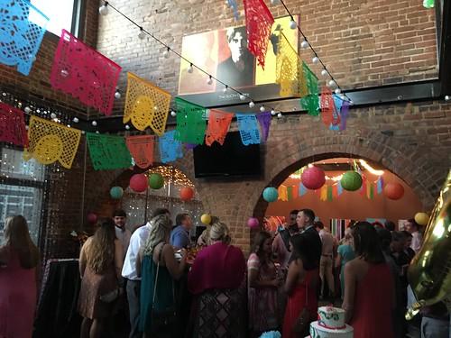 Wedding reception at The SoChi Gallery
