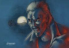 Be one of us (phrenan) Tags: lostboys jovenesocultos gothic kiefersutherland vampire vampiro phrenanillustrations